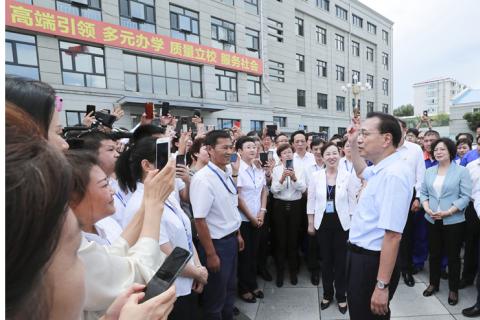 李克强在黑龙江考察:推动东北全面振兴