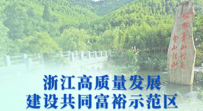 中共中央国务院关于支持浙江高质量发展建设共同富裕示范区的意见
